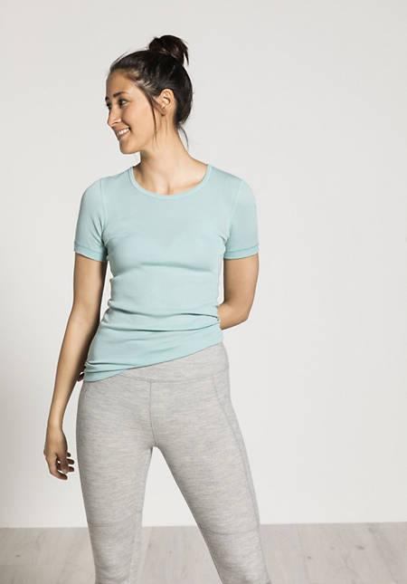 PureWOOL half-sleeved shirt made from pure organic merino wool