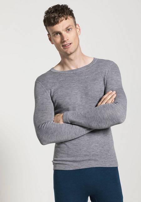 PureWOOL long-sleeved shirt made from pure organic merino wool