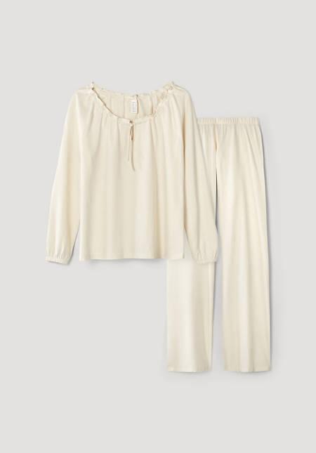 Pure nature pajamas made of pure organic cotton
