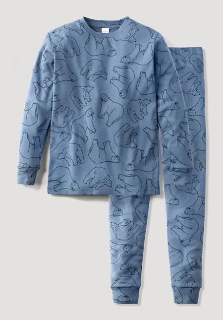 Pyjama Jungs aus reiner Bio-Baumwolle