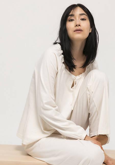 Pyjama Pure nature aus reiner Bio-Baumwolle