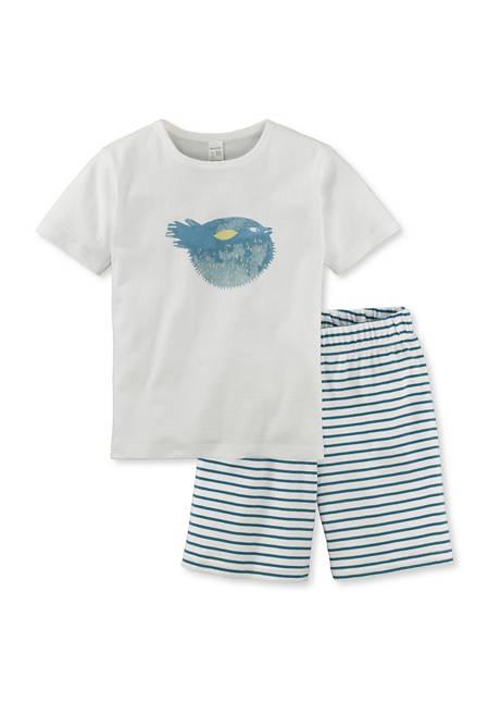 Pyjama kurz aus reiner Bio-Baumwolle