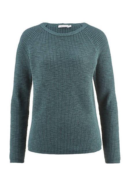 Raglan-Pullover aus reiner Bio-Baumwolle