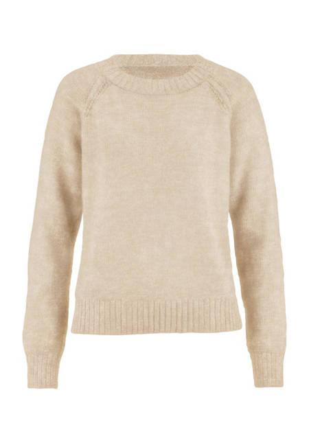 Raglan sweater made from pure baby alpaca