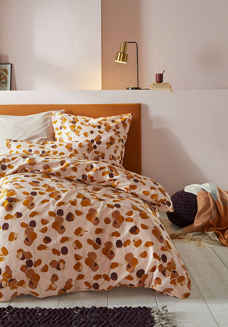 Rami satin bed linen made from pure organic cotton