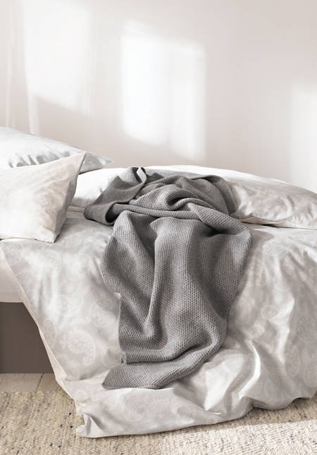 Renforcé-Bettwäsche Assam aus reiner Bio-Baumwolle