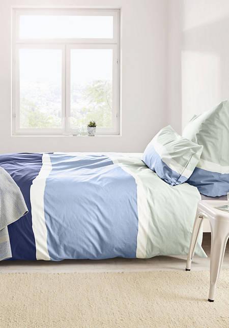 Renforcé-Bettwäsche Fanö aus reiner Bio-Baumwolle