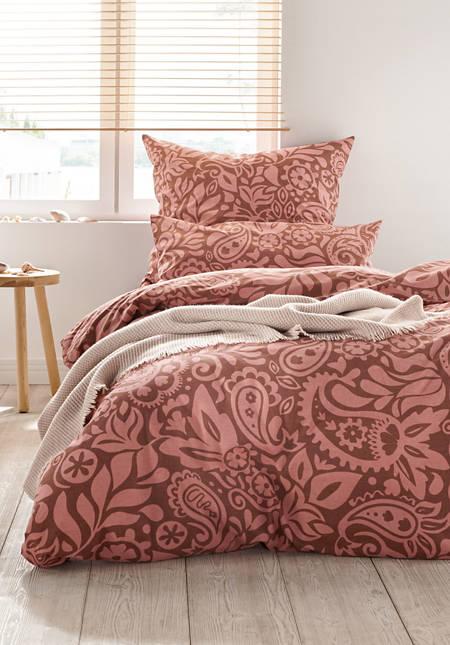 Renforcé-Bettwäsche Jaipur aus reiner Bio-Baumwolle