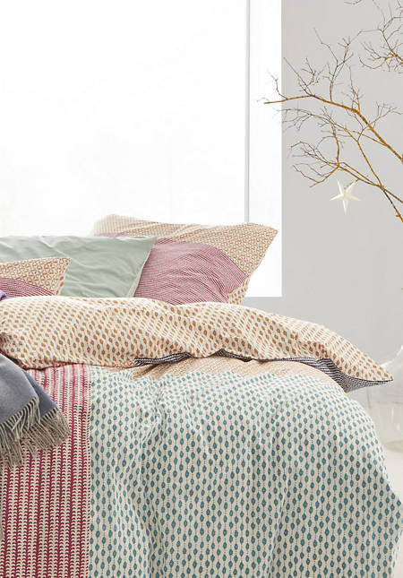 Renforcé-Bettwäsche Mugandi aus reiner Bio-Baumwolle