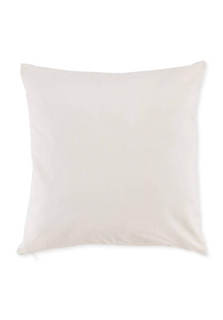 Renforcé Kissenbezug aus reiner Bio-Baumwolle