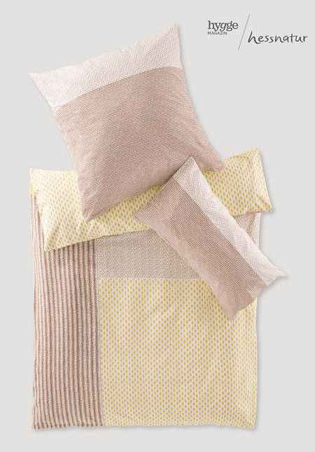 Renforcé Mugandi bed linen made from pure organic cotton