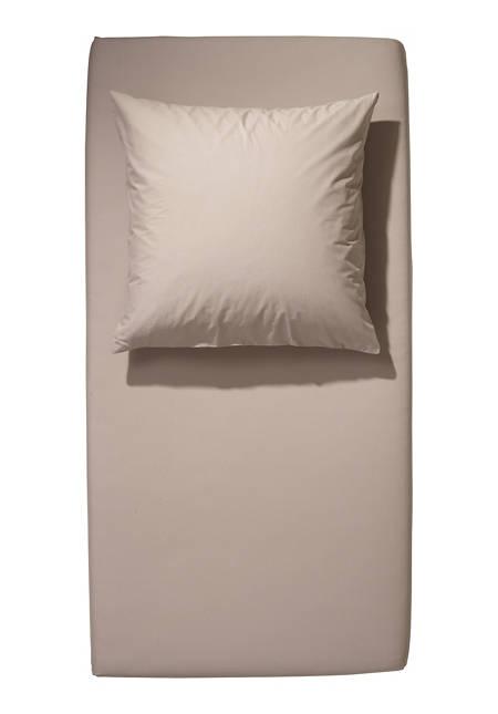Renforcé-Spannbetttuch aus reiner Bio-Baumwolle