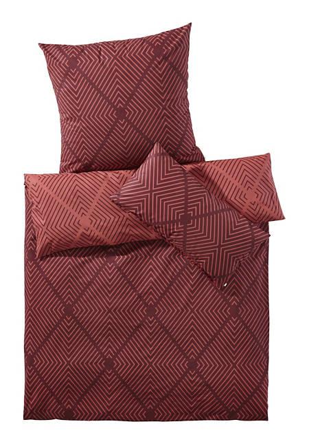 Renforcé-Wende-Bettwäsche Akira aus reiner Bio-Baumwolle