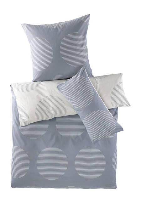 Renforcé-Wendebettwäsche San aus reiner Bio-Baumwolle