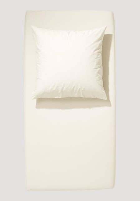 Renforcé fitted sheet made from pure organic cotton
