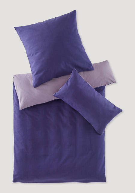 Reversible beaver bed linen made from pure organic cotton