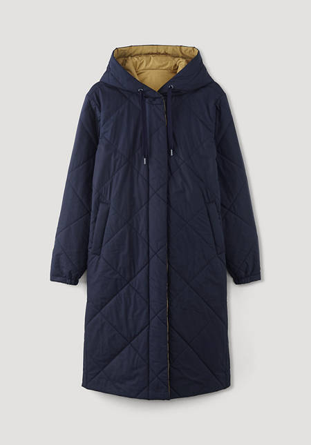 Reversible quilted coat Nature Shell