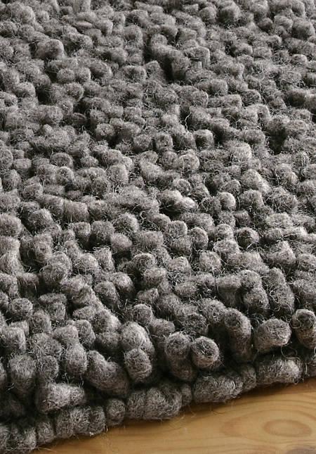 Rhön sheep pile carpet made of pure new wool