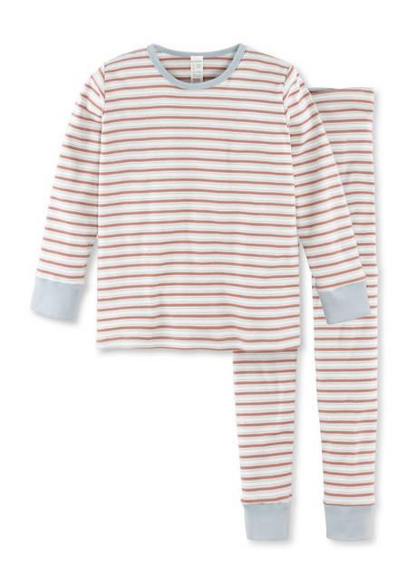 Ringel-Pyjamaaus reiner Bio-Baumwolle