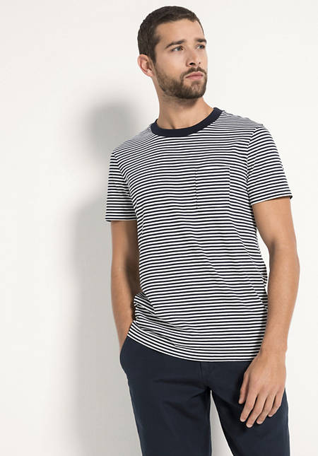 Ringel-Shirt aus reiner Bio-Baumwolle