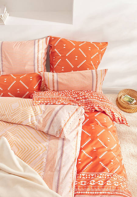 Samira satin bed linen made from pure organic cotton