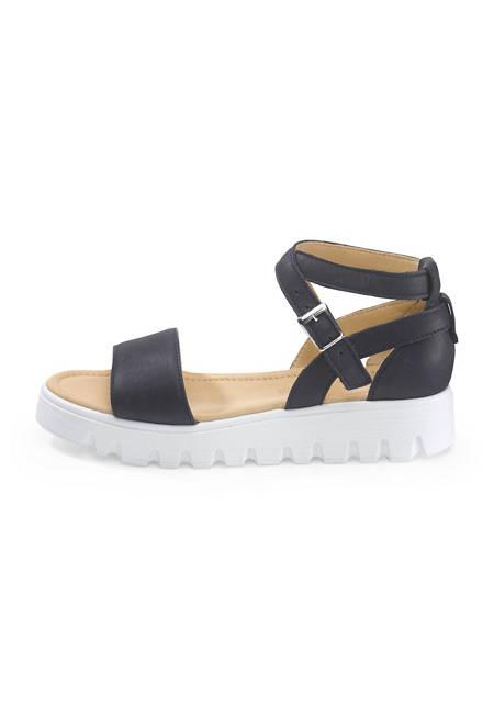 Sandalette aus Leder