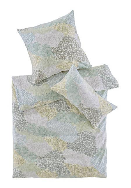 Satin-Bettwäsche Jasugi aus reiner Bio-Baumwolle