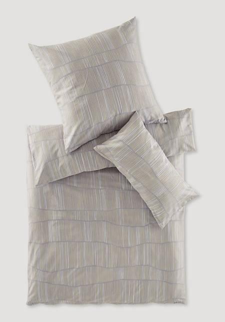 Satin-Bettwäsche Klint aus reiner Bio-Baumwolle