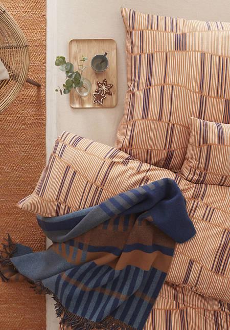Satin-Bettwäsche Klint im Set aus reiner Bio-Baumwolle