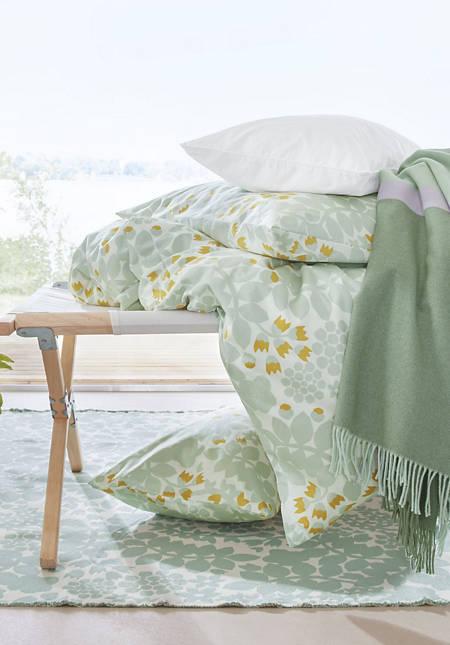 Satin-Bettwäsche Leila aus reiner Bio-Baumwolle
