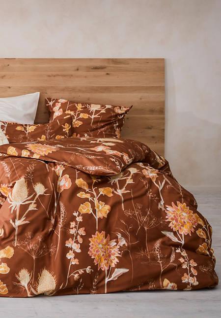 Satin-Bettwäsche Pernille aus reiner Bio-Baumwolle