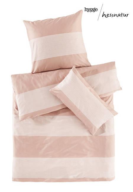 Satin-Bettwäsche Zenissimo aus reiner Bio-Baumwolle