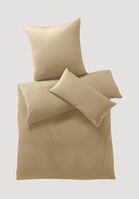 Satin bed linen made from pure organic cotton