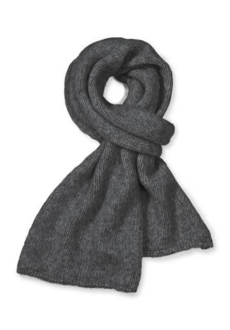 Schal aus Alpaka mit Baumwolle und Schurwolle