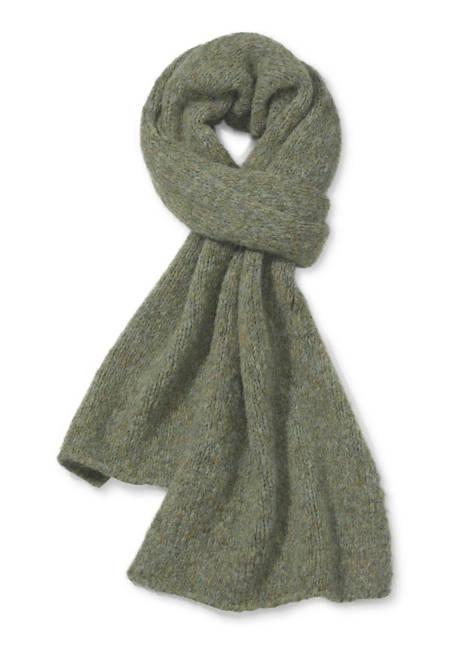 Schal aus Alpaka mit Bio-Baumwolle