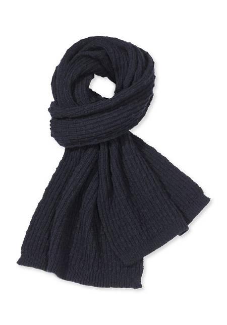 Schal aus Alpaka mit Schurwolle