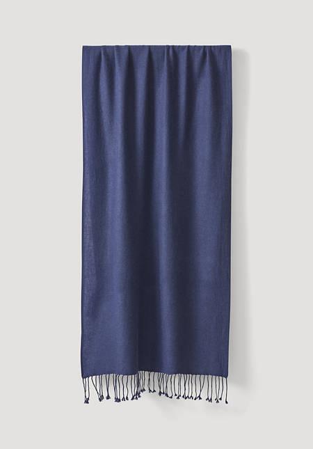 Schal aus Kaschmir mit Schurwolle