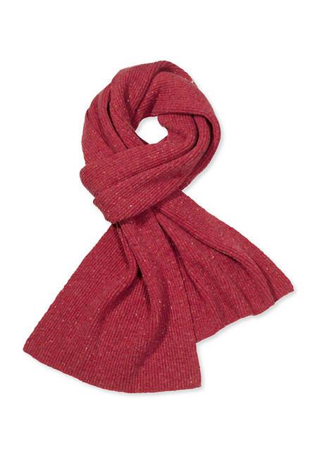 Schal aus Schurwolle mit Kaschmir und Seide