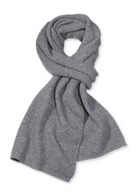 Schal aus Schurwolle mit Yak und Baumwolle
