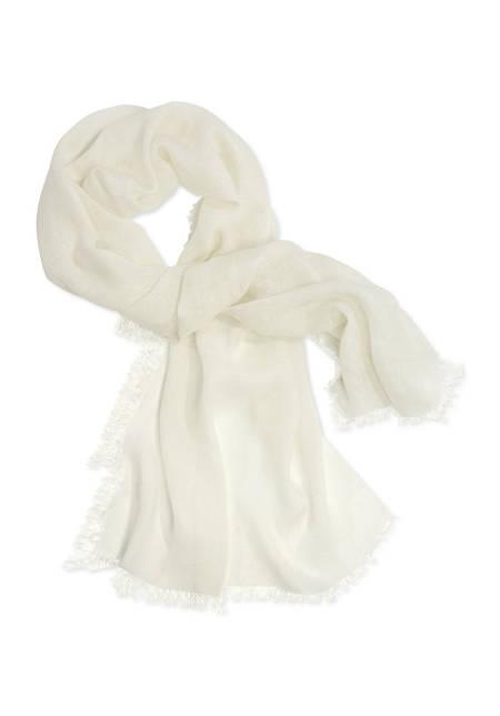 Schal aus reinem Leinen