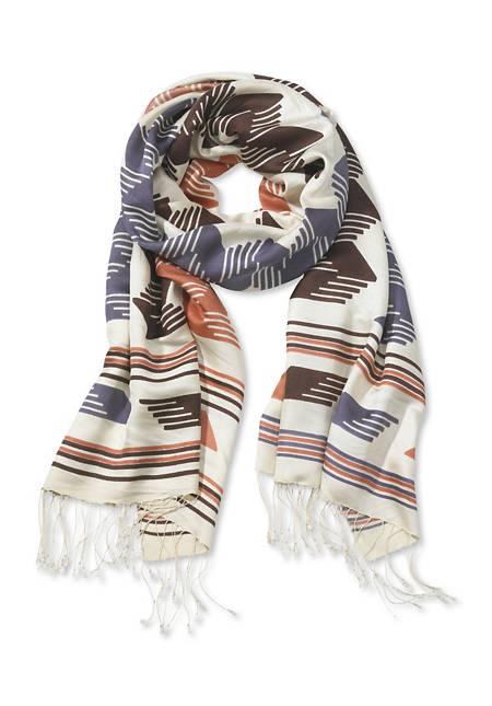 Schal aus reiner Seide