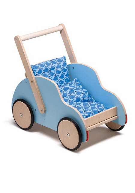 Schiebewagen Little Tony (inkl. Bettchen Blue Walfisch)
