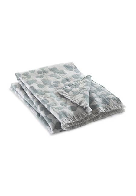 Schurwoll-Decke Rami aus reiner Merinowolle