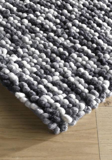 Schurwoll-Teppich Colori Rhönschaf