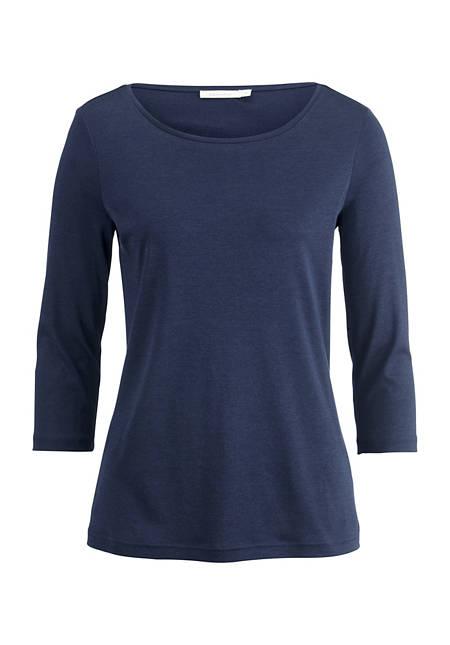 Seiden-Shirt mit Baumwolle