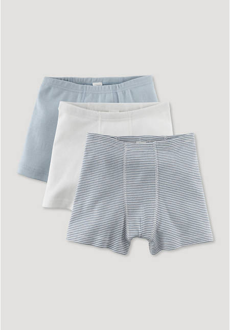 Set of 3 pants made of pure organic cotton