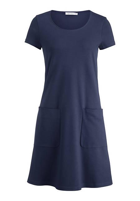 Shirt-Kleid aus reiner Bio-Baumwolle