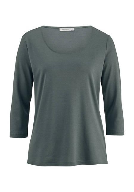 Shirt aus Baumwolle und Seide