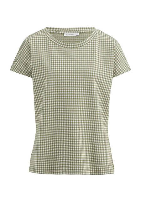 Shirt aus Bio-Baumwolle mit Elasthan