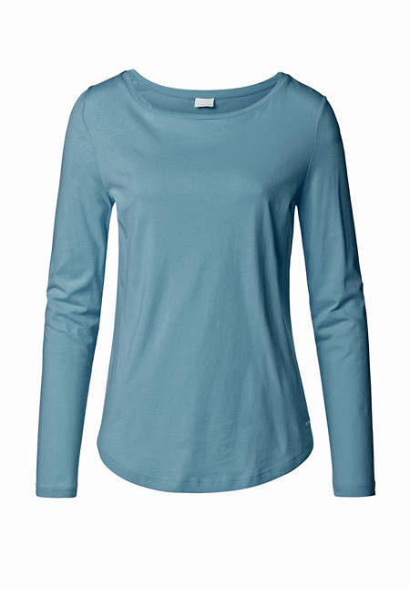 Shirt aus Bio-Baumwolle und Kapok